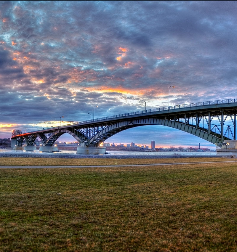 Peace Bridge - Fort Erie