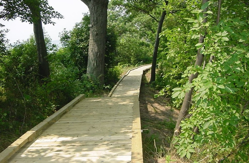 Morgan's Point boardwalk