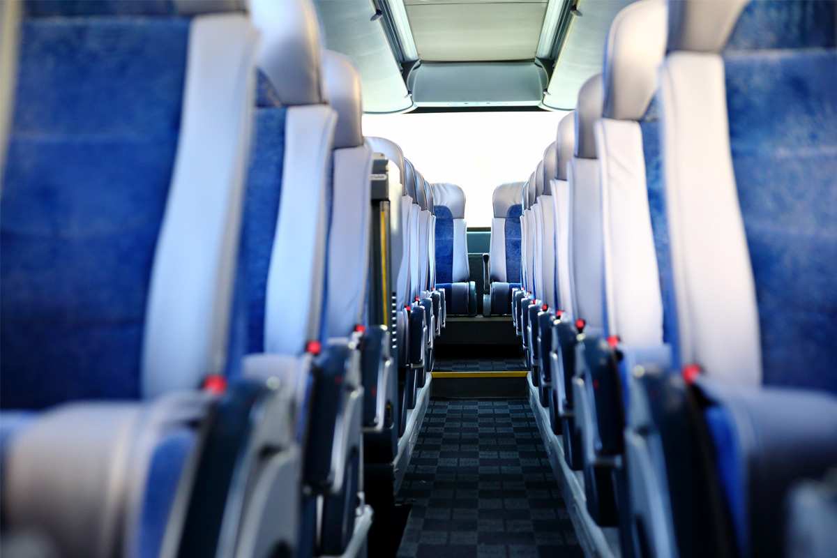 empty commercial airline seats