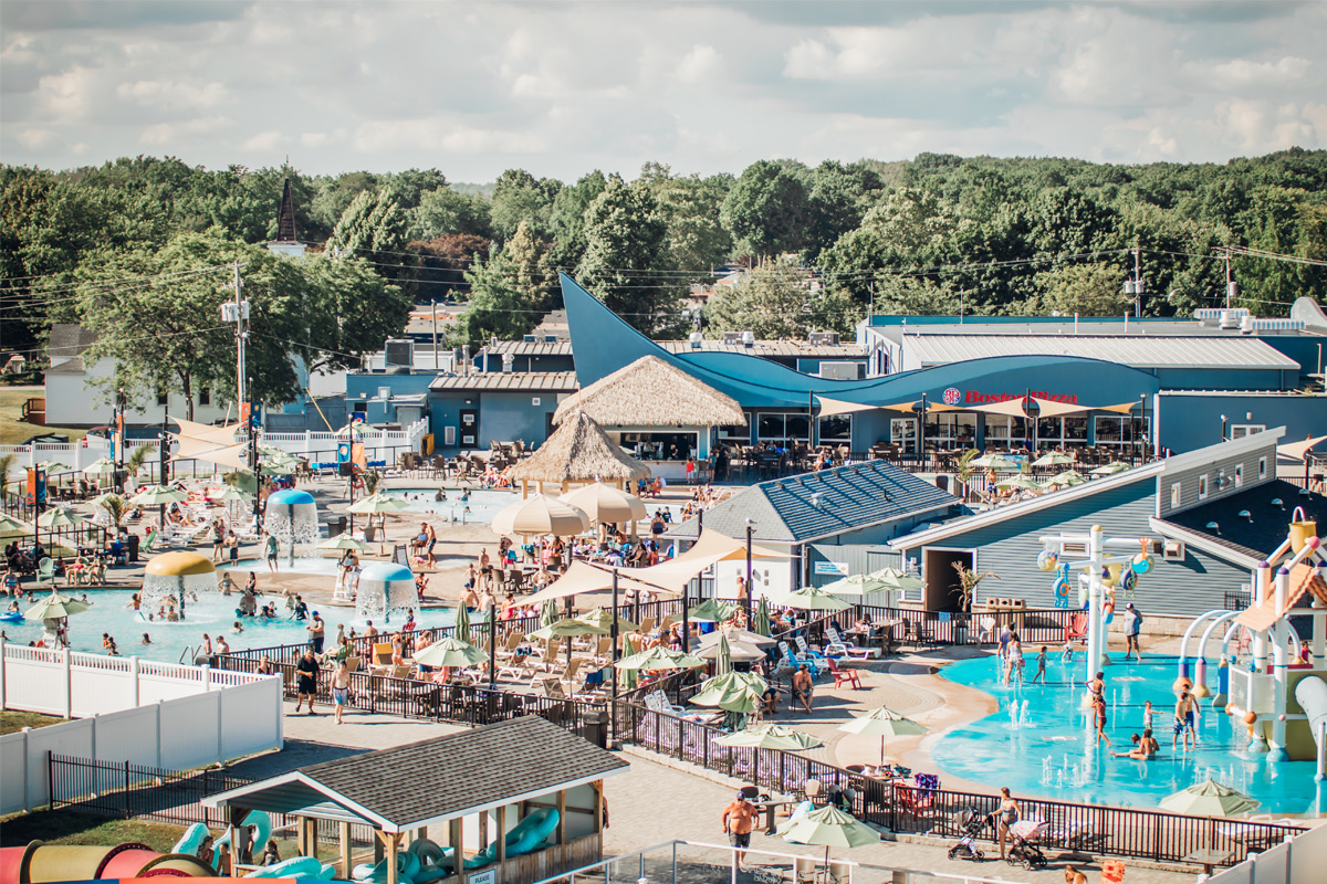 waterpark at Sherkston Shores Beach Resort & Campground